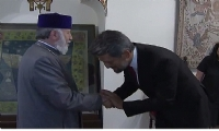 Catholicos of All Armenians receives MP Garo Paylan of the Turkish Parliament