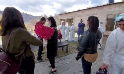 Flowers and applauds: How Armenian citizens return home after 14-day isolation