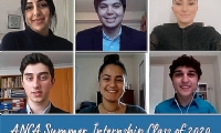 ANCA Summer Interns Explore New Virtual Opportunities to Advance Community Priorities