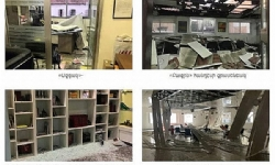 ​Center where numerous Armenian offices are located is damaged in Beirut explosion