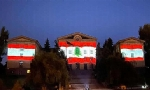 ​Armenian Parliament Building Lit Up With Lebanon Flag