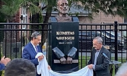 Statue of Komitas unveiled in Montreal