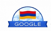 ​Google Changes Doodle to Mark Armenia's 29th Anniversary of Independence