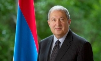 ​Armenian President addresses congratulatory message on Independence Day
