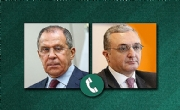 Telephone conversation between the Foreign Ministers of Russia and Armenia