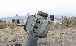 Nagorno-Karabakh`s south shelled in heavy air strike; civilians wounded