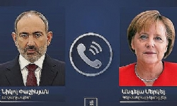 Nikol Pashinyan, Angela Merkel discuss Nagorno-Karabakh situation