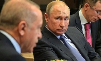 ​Putin talks to Erdogan, voices concerns over increased involvement of foreign fighters in Karabakh