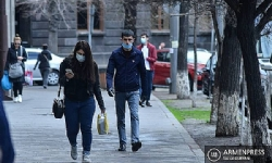 Armenia reports 1184 new cases, 1762 recoveries in one day