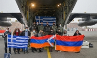 ​Second plane carrying humanitarian aid from Greece arrives in Yerevan