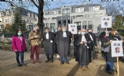 European lawyers rally in front of Azerbaijani Embassy in Brussels, denounce aggression against Arts