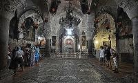 Hi-tech imaging sheds light on wall crosses of Holy Sepulchre's Armenian Chapel